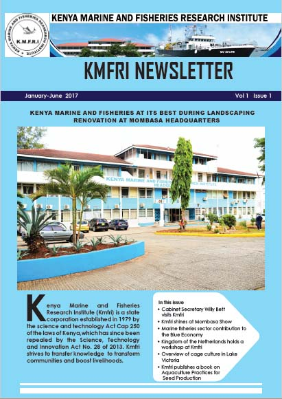 Current issue of KMFRI Newsletter